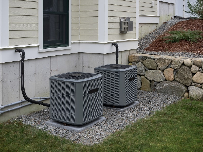 How to Landscape Around an AC Unit